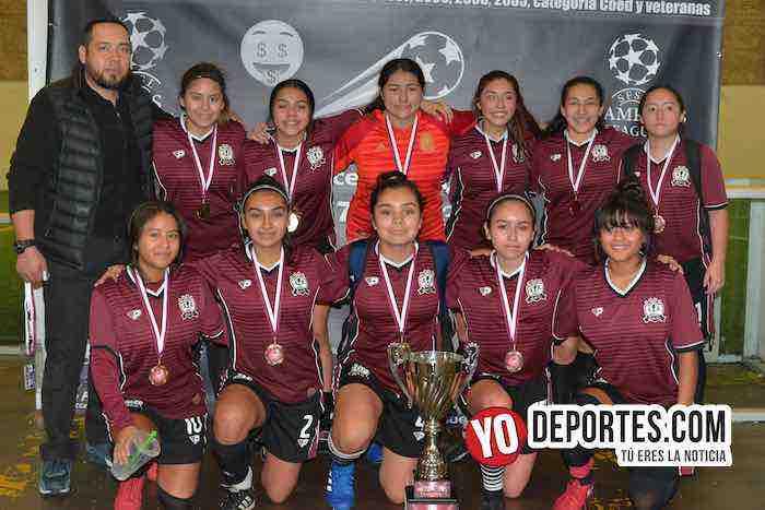 Chicago Real FC campeonas High School de la Liga San Francisco