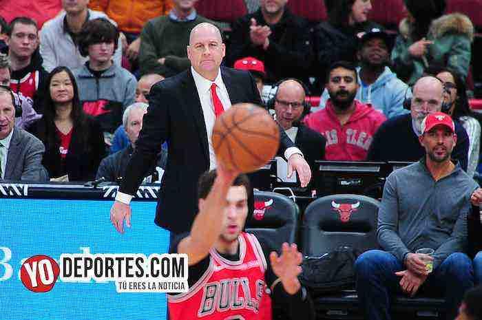 Debuta ganando en casa Jim Boylen nuevo dirigente de los Chicago Bulls