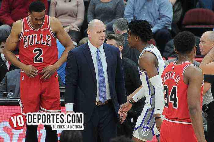 Coach Jim Boylen-Chicago Bulls-Sacramento Kings