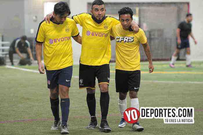Cuamio-A B Electronics-Liga Latinoamericana Indoor Futbol Chicago
