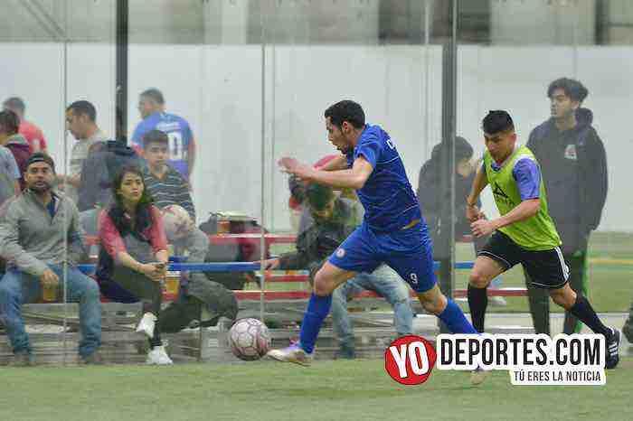 Cuervos Negros-U de G-Liga 5 de Mayo-Final Segunda Division Chicago Indoor Soccer