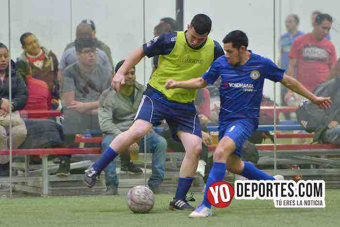 Cuervos Negros-U de G-Liga 5 de Mayo-Final Segunda Division Futbol Indoor
