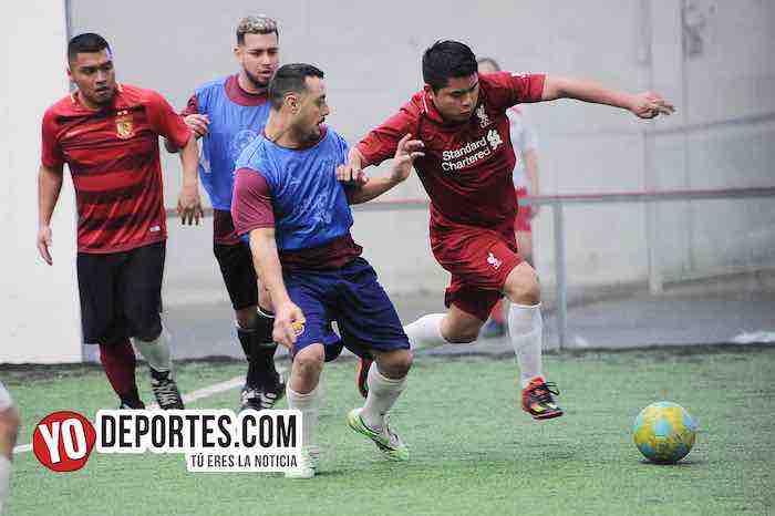 Deportivo 59-Gallos Rojos-Liga Douglas Soccer League
