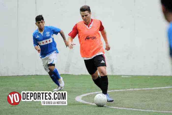 Deportivo Azteca-Chicago Soccer-Champions Liga Latinoamericana Chicago Indoor Sports