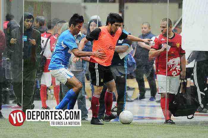 Deportivo Azteca-Chicago Soccer-Champions Liga Latinoamericana Futbol Indoor
