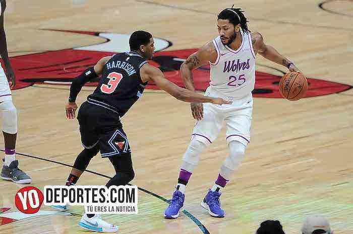 Derrick Rose-Chicago Bulls-Minnesota Timberwolves