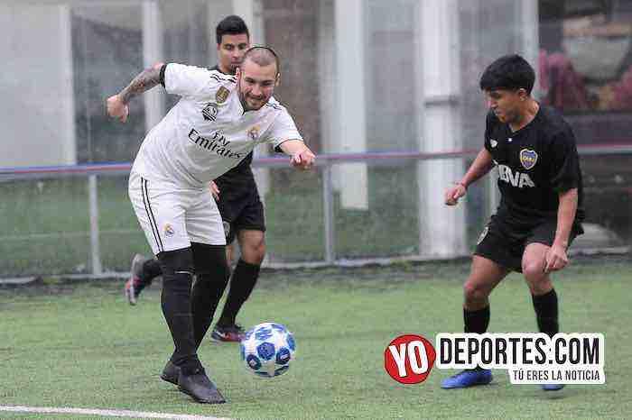 Eder Patino-Boca Jr-Campo Hermoso-Champions de los Martes-Liga San Francisco