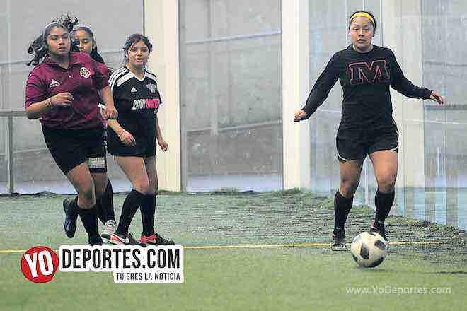 Fire-Deportivo 59-Liga Douglas Femenil Indoor Futbol