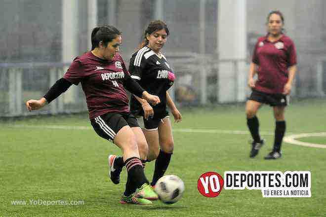 Fire-Deportivo 59-Liga Douglas Femenil de Chicago