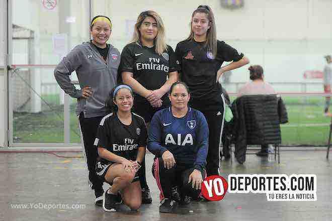El Fire escupe fuego en la nueva Liga Douglas Femenil