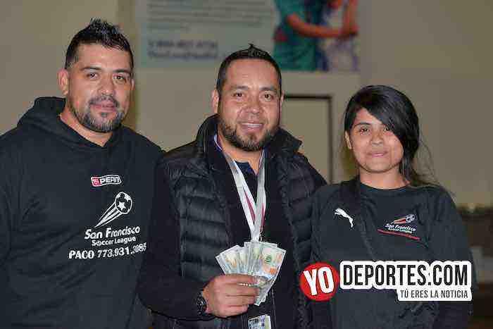 Francisco Paco Castro premiacion-Chicago Real FC-Wizards-High School-Liga San Francisco