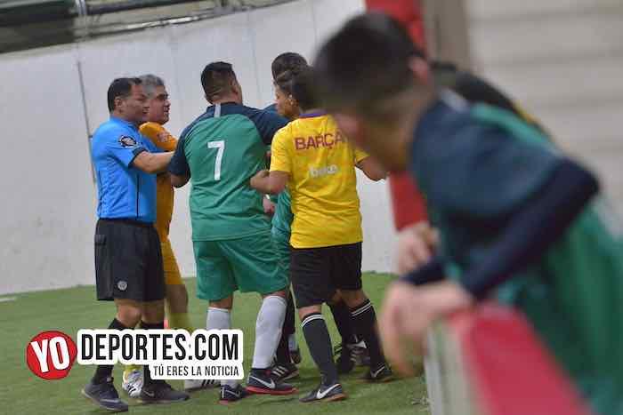 Granda FC-Aztecas-Liga 5 de Mayo-Final Primera División Especial Futbol Indoor