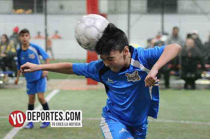 Halcones JC-Teucizapan-Champions Kids -Chicago Indoor-Liga Latinoamericana