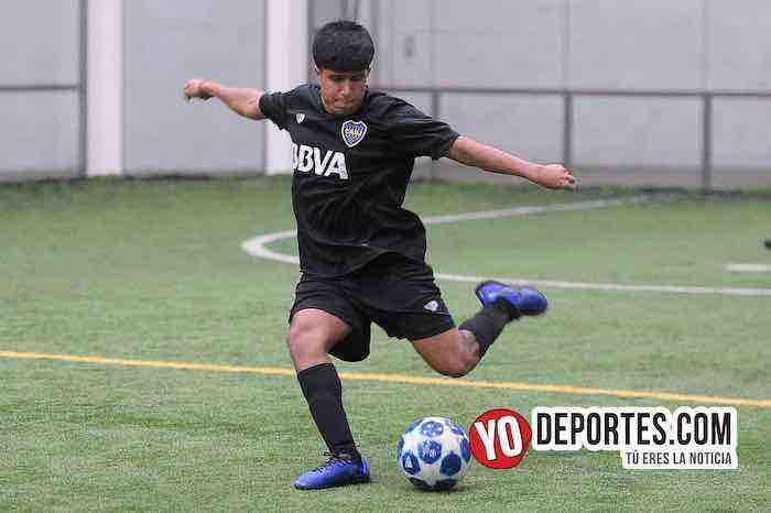 Jonathan Pachar-Boca Jr-Campo Hermoso-Champions de los Martes-Liga San Francisco