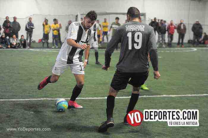 La Juve-CD Vagos-Liga Interamericana Futbol Indoor Chicago