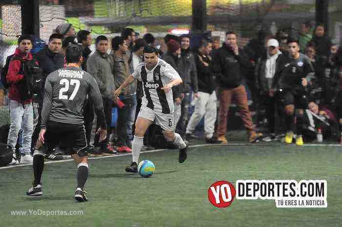 La Juve contra CD Vagos-Liga Interamericana Futsal Chicago
