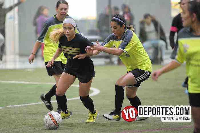 Lady Sharks-Deportivo Ocaso-AKD Soccer League Femenil Chicago