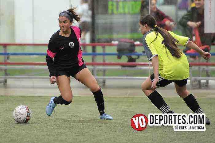 Lady Sharks-Deportivo Ocaso-AKD Soccer League Femenil