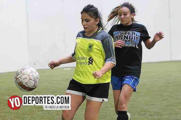 Lady Sharks-Deportivo Ocaso-AKD Soccer League Futbol Femenil