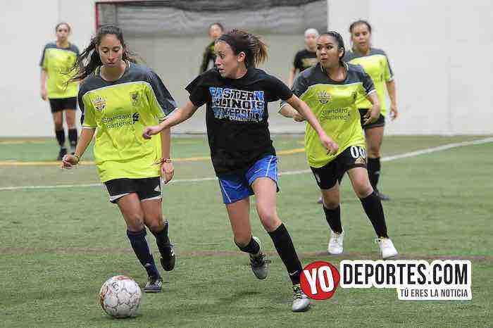 Triunfal debut de las Lady Sharks en AKD Soccer League