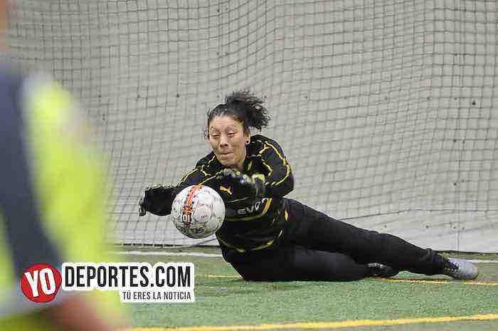 Lady Sharks-Deportivo Ocaso-AKD Soccer League Portera Futbol Mujeres