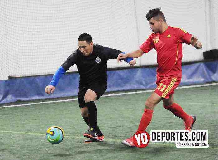 Luna FC-Chivas-Liga Taximaroa de Futbo-Chicago Indoor