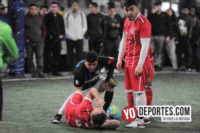 Nueva Italia-Las Palmas-Liga Taximaroa final jugador lesionado