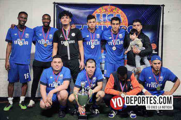Nueva Italia campeon de los martes-Liga Taximaroa