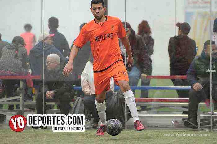 Red Fire-Cardenas-Liga Latinoamericana-Champions Futbol Rapido en Chicago