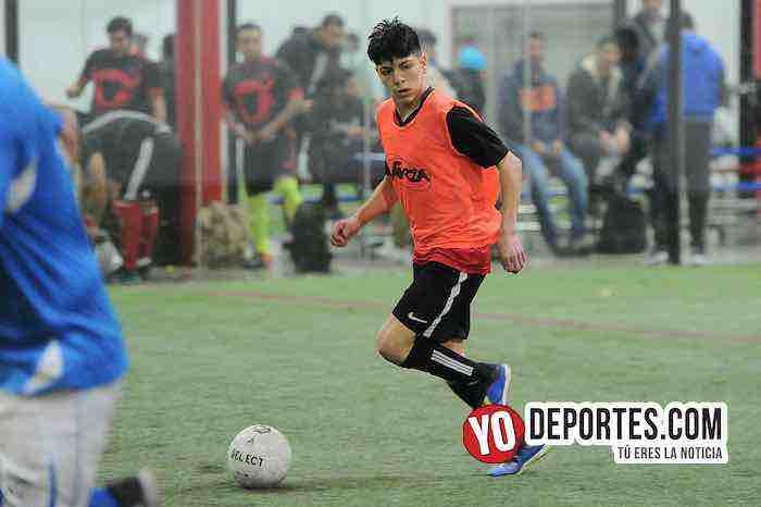 Rigo Villa-Deportivo Azteca-Chicago Soccer-Champions Liga Latinoamericana