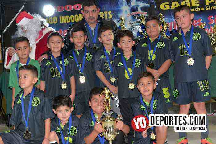 San Antonio-Campeon Liga Latinoamericana-Finales Champions Kids-2010