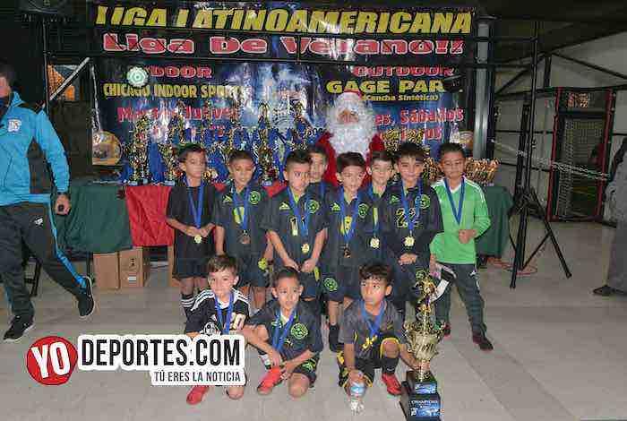San Antonio 2011 Campeón de alargue en Champions Kids Latinoamericana