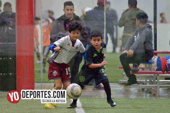San Antonio contra Deportivo 59-Liga Latinoamericana-Finales Champions Kids