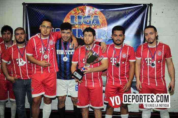 Segundo lugar Las Palmas-Liga Taximaroa