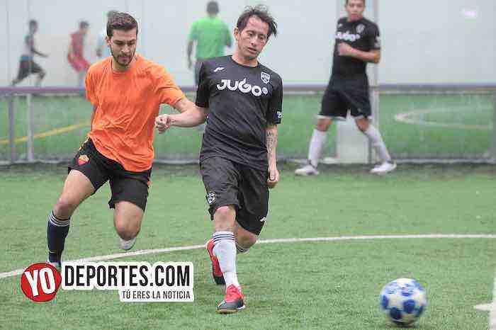 Southside-Villa Toro-Champions de los Martes-Liga San Francisco Chicago Futbol Indoor