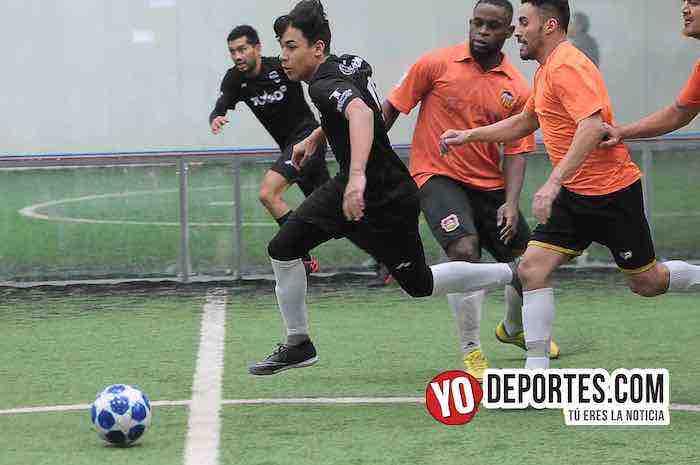 Southside-Villa Toro-Champions de los Martes-Liga San Francisco Futbol Indoor