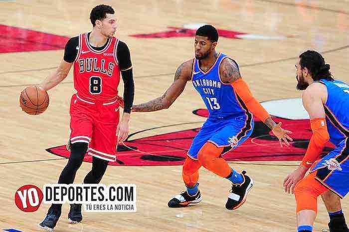 Zach LaVine-Paul George-Chicago Bulls-Oklahoma City Thunder