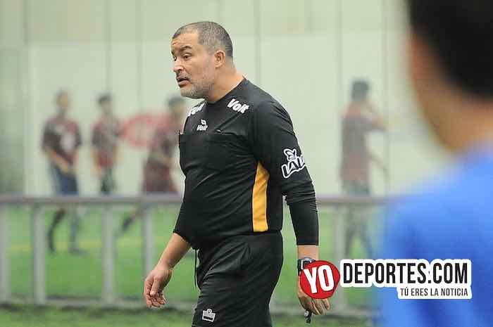 Arbitro Alex Ruiz-Real Madrid-Cicero United-Liga San Francisco Kids