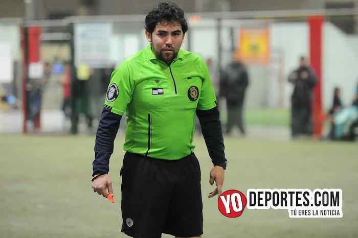 Arbitro Alvaro Corrtina-La Bamba-Real Juventud-Liga 5 de Mayo