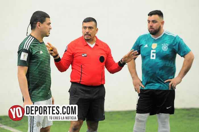 Arbitro Guillermo Caballero-Douglas Boys-Michoacán Semifinal-Liga Douglas