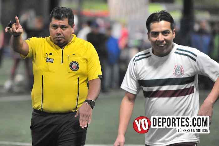Arbitro Hector Cardenas-CD Hidalgo-Manchester-Liga Taximaroa-Martes