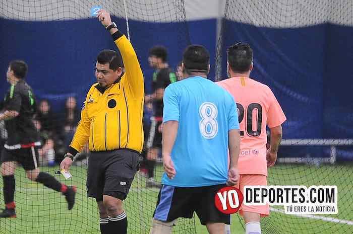 Arbitro Hector Cardenas-Potosino-Southside-Liga Victoria Ejidal-Final Veteranos