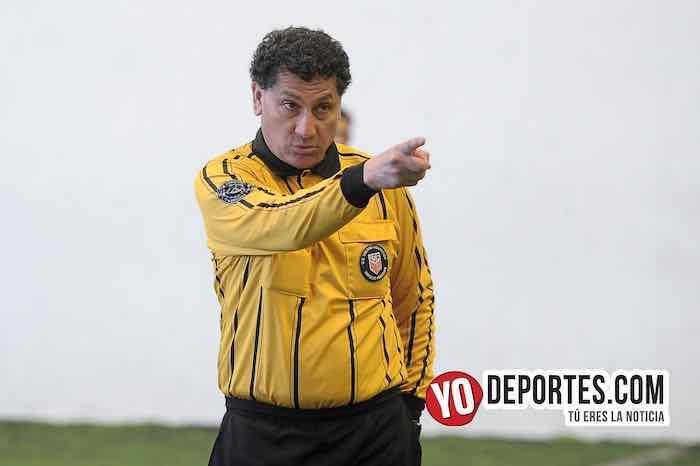 Arbitro Javier Torres El Chino-San Francisco-Douglas Boys-Liga Douglas Campeones de Campeones
