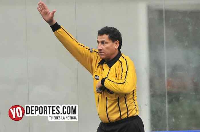 Arbitro Javier Torres El Chino-Wizards FC-Tigers-Liga San Francisco High School