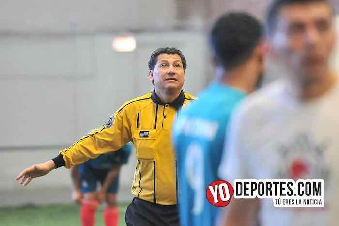Arbitro Javier Tortres-Lobos-Porto Alegre-Liga Douglas