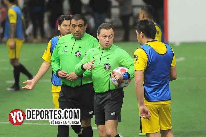 Arbitro Juan Jaramillo-Carlos De Luna-Iguala-Boca Jr-Chitown Futbol-Veteranos