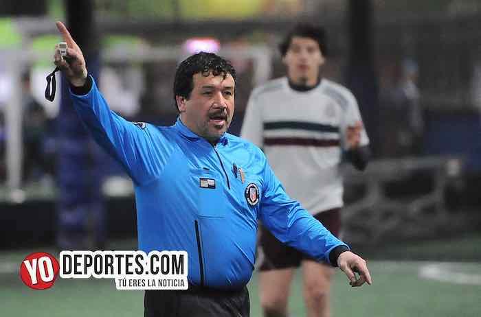 Arbitro Luis Menjivar-CD Hidalgo-Lobos T-Liga Taximaroa de los Martes