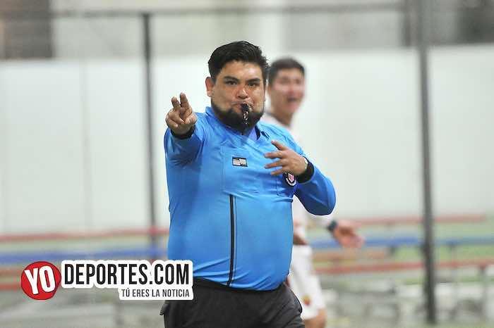 Arbitro Miguel Gutierrez-Deportivo Pilsen-Cariocas-Liga 5 de Mayo