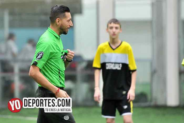 Arbitro Rudy Chatita Hernandez-Estancia-Deportivo Kual-Liga San Francisco