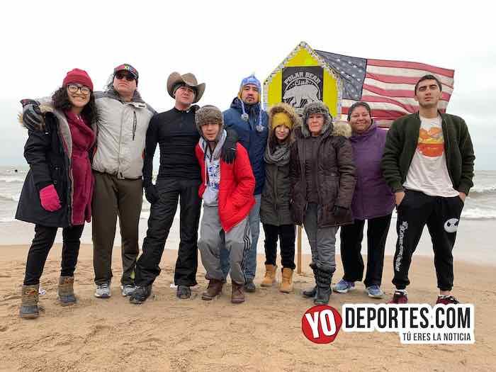 Baño Helado 2019 Lago-Familia Ochoa Guerra